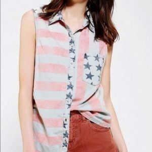 Urban Outfitters BDG American Flag 🇺🇸 Tank Top